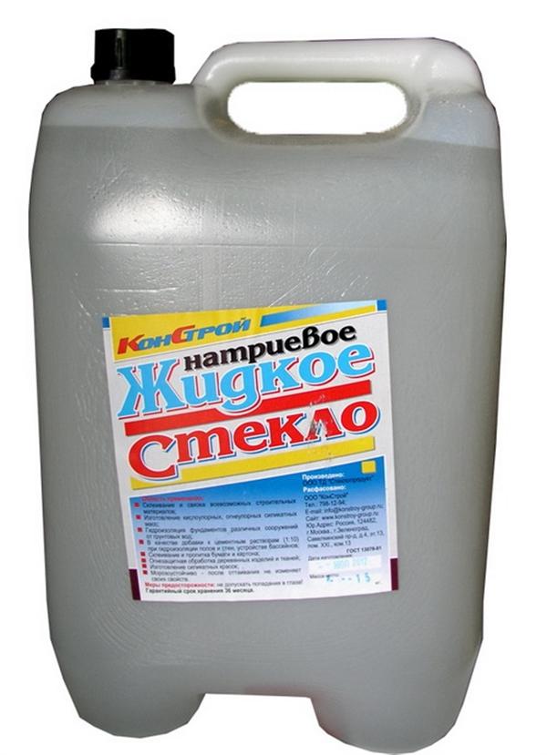 Жидкое ��екло кани���а 15кг